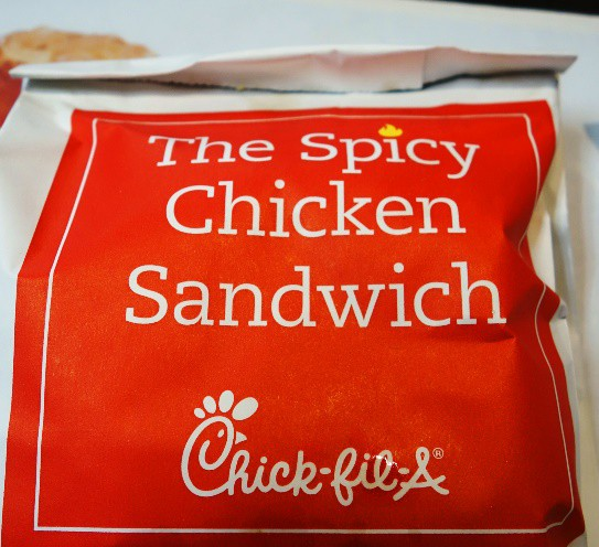 Spicy Chicken Sandwich, Chick-fil-A, good Food, fast food