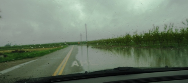 Flood, Rain, Rainy Day, Flooded Road, Water over Road