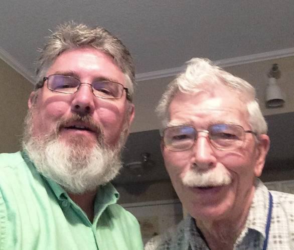 Generational Selfie, Selfie, Great Uncle, White Hair