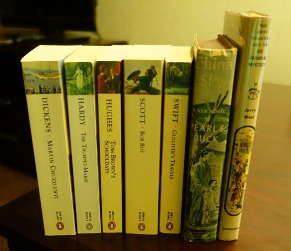 Books, Half-Price Books, Dallas, Penguin Classics, Happy Hollisters