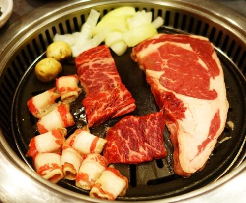 Korean BBQ, Koryo Galbi, grilled meat, Korean Food, Korean Cuisine