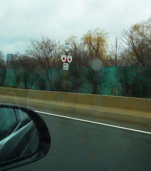 Rainy Commute, 401 Toronto, Traffic, Rainy Day
