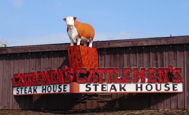 Cattlemen's, Restaurant, Steak House, Forth Worth, Stock Yards, Texas