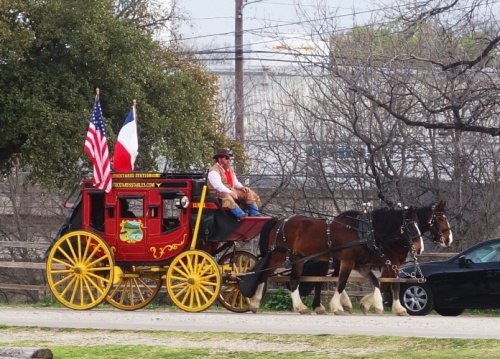 Stage Coach, Stock Yards, Fort Worth, Texas