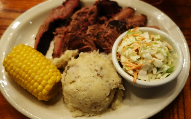 Shady Oaks Barbeque, Fort Worth, Brisket, Potatoes, BBQ