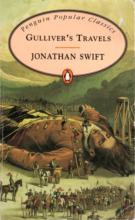 Jonathan Swift, Gulliver's Travels, Penquin Classics