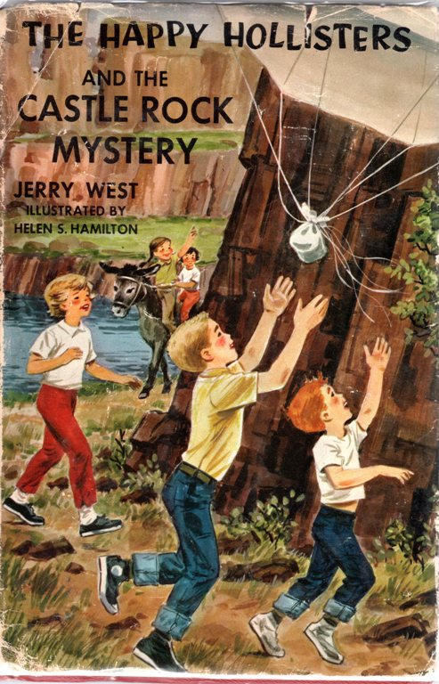 The Happy Hollisters and the Castle Rock Mystery, Jerry West, Books, Children's Books, Mysteries, Series Collection