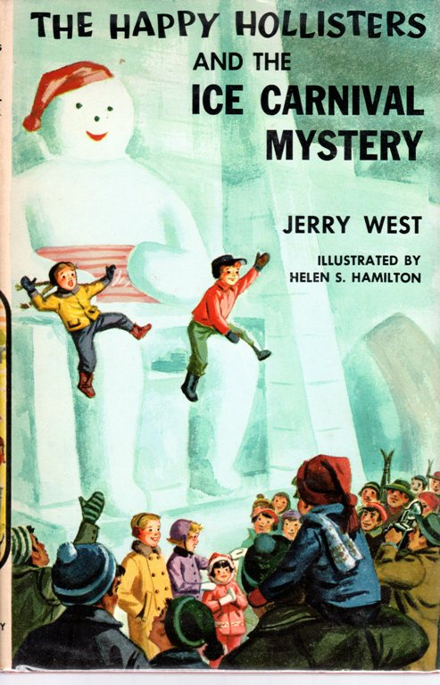Happy Hollisters, Ice Carnival Mystery, Jerry West, Collection
