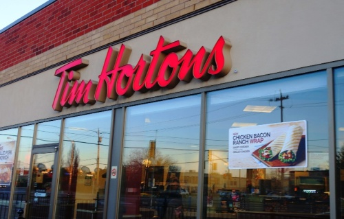 Tim Hortons, Canada, Breakfast, Coffee, sausage biscuit