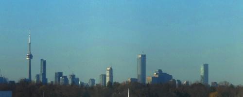 Toronto Skyline, Westin Prince, Hotel View