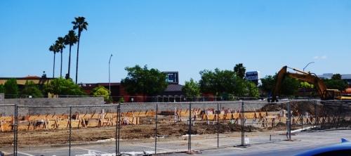 Chick-fil-A, Pleasanton, California, Construction, footings