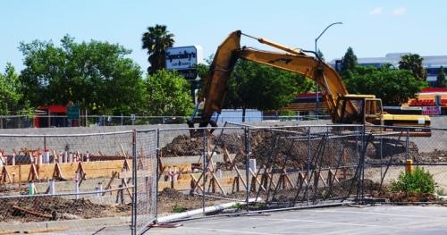 Construction, Chick-fil-A, Pleasanton, California