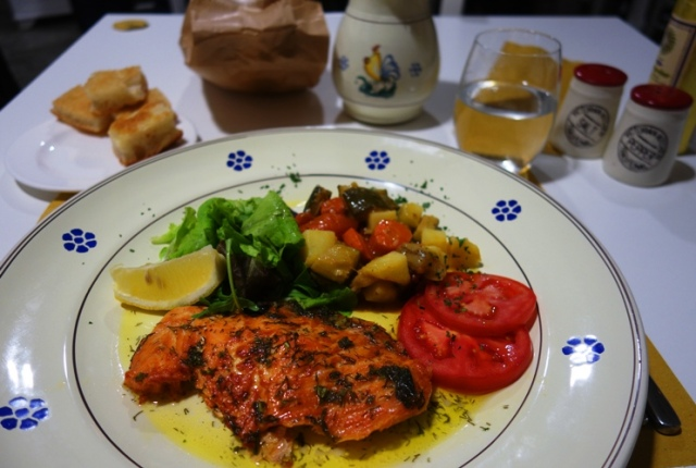 Salmon, Bistro, Come a Casa, Milan
