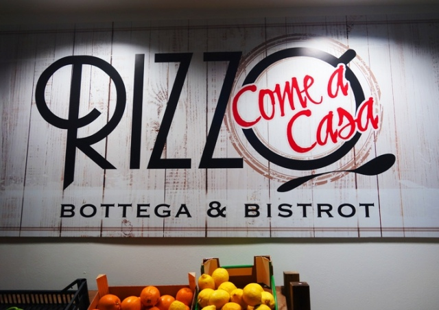 Rizzo Come a casa, bottega, Bistrot, Milan, dinner