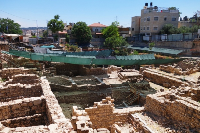 Acra, Greek Fortress, Givati Parking Lot, Archaeology