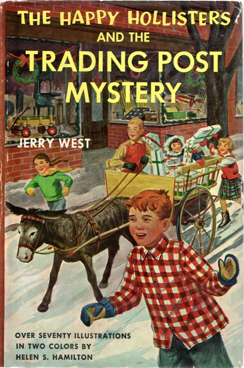 The Happy Hollisters, Jerry West, Stratenmeyer Syndicate, mysteries