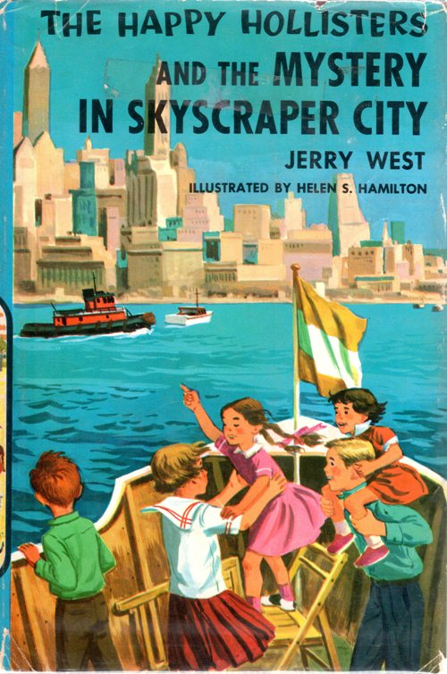 The Happy Hollisters and the Mystery in Skyscraper City, Jerry West, Reading Challenge