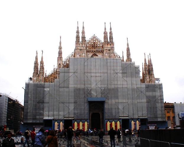 Milan Duomo 2006, Restoration
