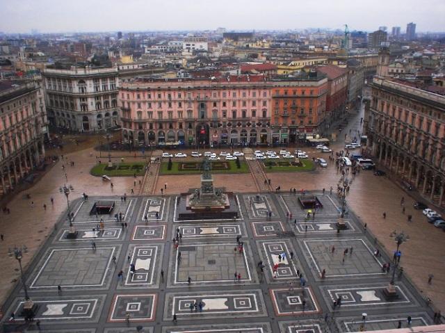 Milan, Italy, Duomo, Square, Patterns