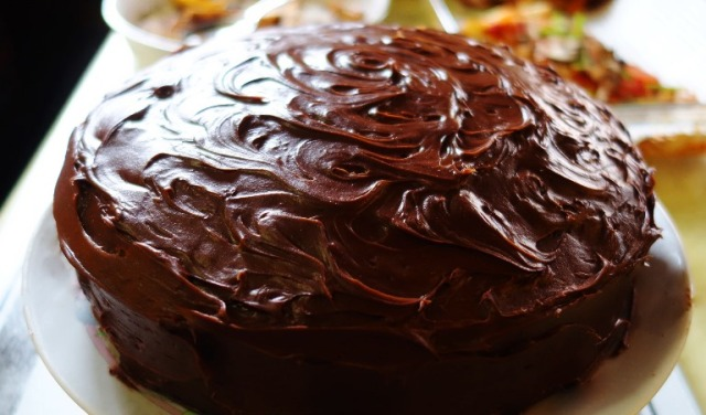 Chocolate Cake, Birthday Cake, Potluck, Canada
