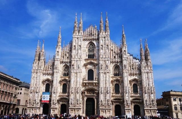 Milan Italy, Duomo, Milan Cathedral