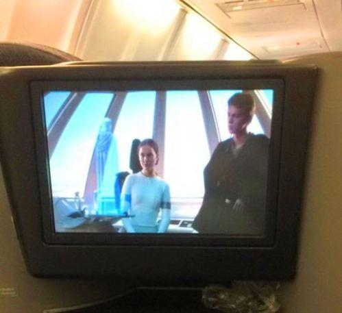 Movie Marathon in Flight, Star Wars Movie Marathon, Long Flights