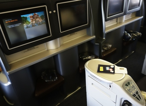 Movies on Plane, Business First Class, International Flight