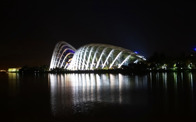 Gardens by the Bay, Marina Bay, Domes, Flower Dome, Cloud Forest, Singapore