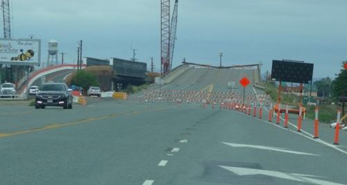 11th Street Bridge, Tracy, California, Construction, Bridge Replacement