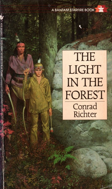 The Light in the Forest, Conrad Richter, Indian Captives
