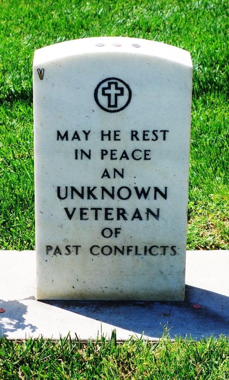 Unknown Veteran, Tracy California Cemetery, Memorial Day, Great Sacrifice