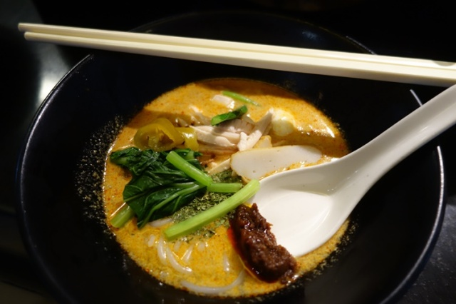 Laksa, Noodle soup, coconut curry,