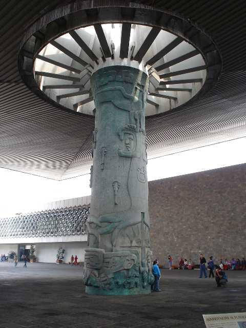 Mexico City, Museo Nacional de Antropología