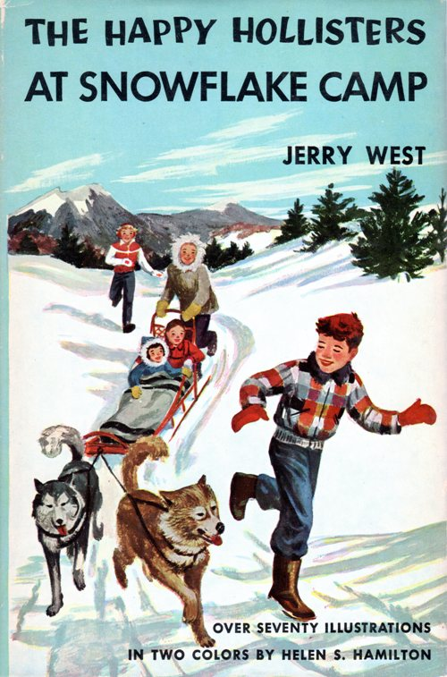 The Happy Hollisters at Snowflake Camp, Jerry West, Book Series, Stratenmeyer Syndicate
