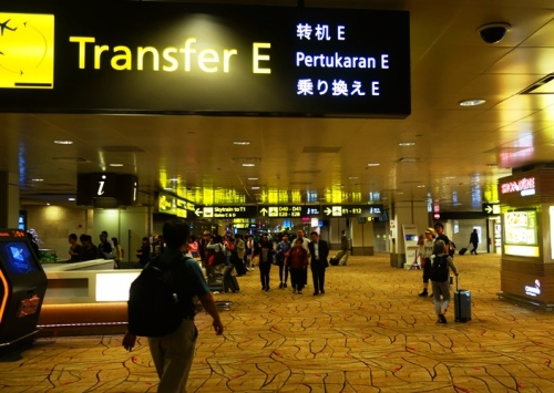 Singapore Changi Airport, Long Day, International Date Line, Flight Home