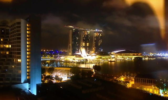 Singapore, Hotel Window, marina Mandarin