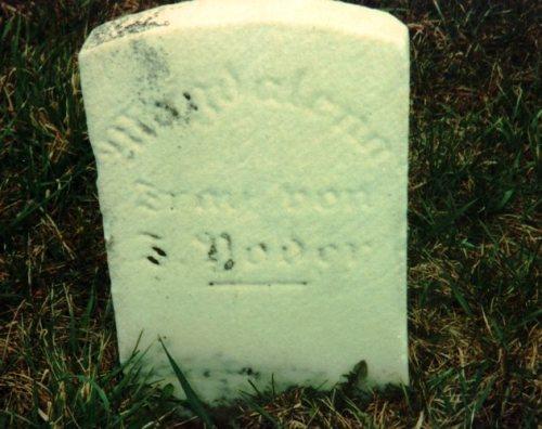 Johann Yoder, Magdalena Stutzman, Tuscarawas County, Ohio, Amish, Gravestone