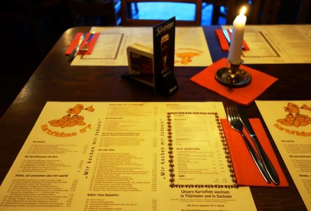 Kartoffelhaus, Jena, Germany, Food, Restaurant