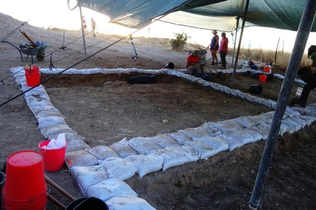 Tel Lachish, Dig Square, Archaeology, Square Setup