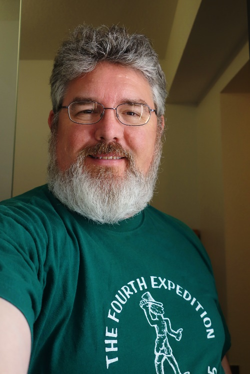 Lachish, Fourth Expedition, Selfie, Beard