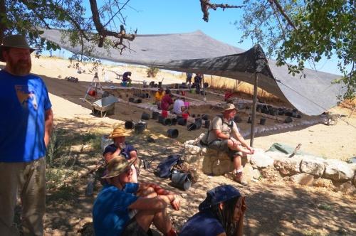 Tel Lachish, Technology Break, Break from digging