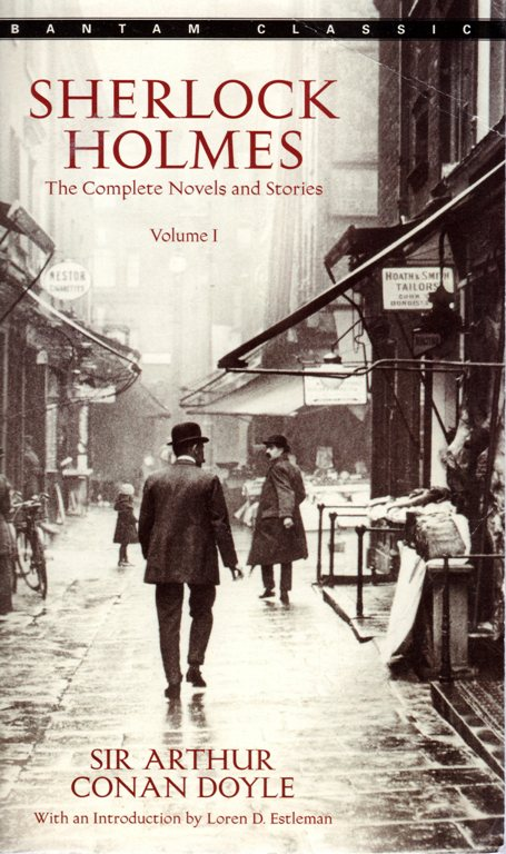 Sherlock Holmes, The Complete Novels and Stories, Volume 1, The Case of the Missing Book