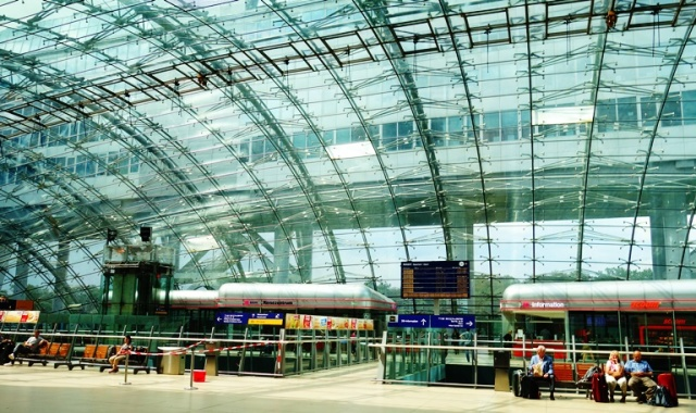 Train Station, Frankfurt Airport, Fernbahnof