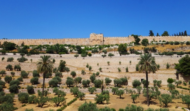 Kidron Valley, Golden Gate, Eastern Gate, Temple Mount