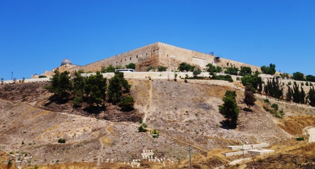 Kidron Valley, Temple Corner, South-East Corner of Temple Mount