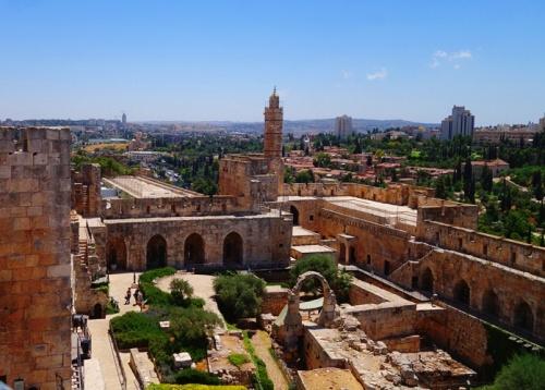 Tower of David, Herod's Palace, Jerusalem Citadel, Tower of David Museum