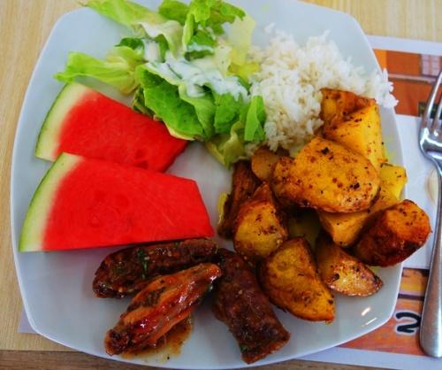 Lunch, Sede Yohav, Kubbitz,