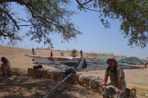 Sunshade, Dig, Archaeology, Dig Site, Sun protection