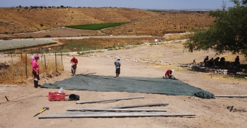 Tel Lachish, Square, Archaeology, New Square, Dig