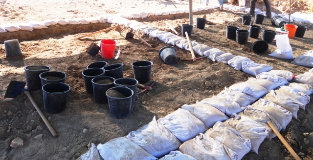 Square Opening, Archaeology, Tel Lachish, dig